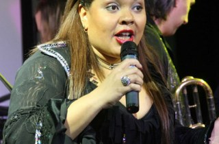 Певица Виктория Пьер Мари
