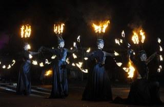 Шоу программа Театр Огня Обертаевой Анастасии