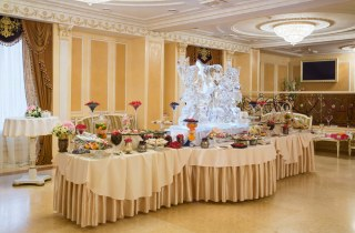 Ресторан для свадьбы в Европейском стиле