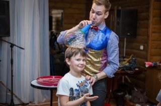 Шоу программа мыльные пузыри Антон Шаклеин
