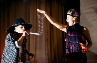 Шоу программа  мыльных пузырей вручную