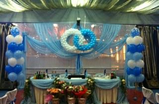 Оформление свадебного зала Эльвира