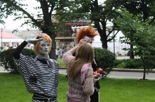 Клоун-мим группа ДОЖ