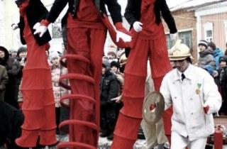 Клоуны Высокие Братья (Tall Brothers)