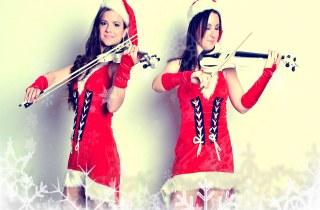 Шоу-программа Скрипачки-снегурочки